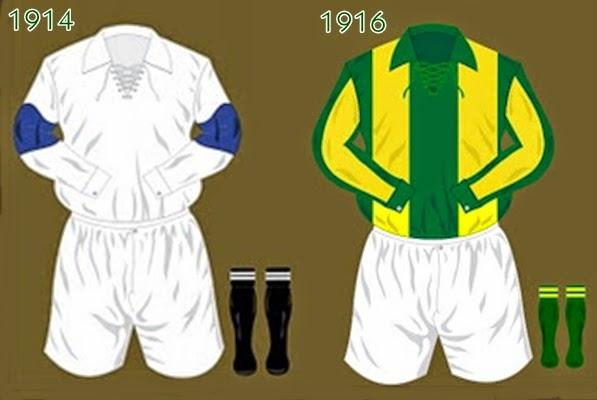 Veja aqui os uniformes usados pela Seleção Brasileira de Futebol desde 1914. f2784b63b7e3a