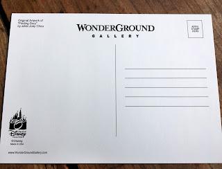 joey chou finding dory postcard