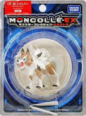 Lycanroc figure Middday form Takara Tomy Monster Collection ESP series