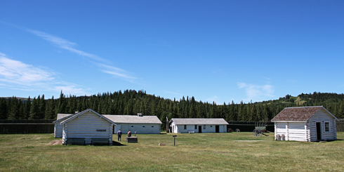 Fort Walsh Saskatchewan Cypress Hills