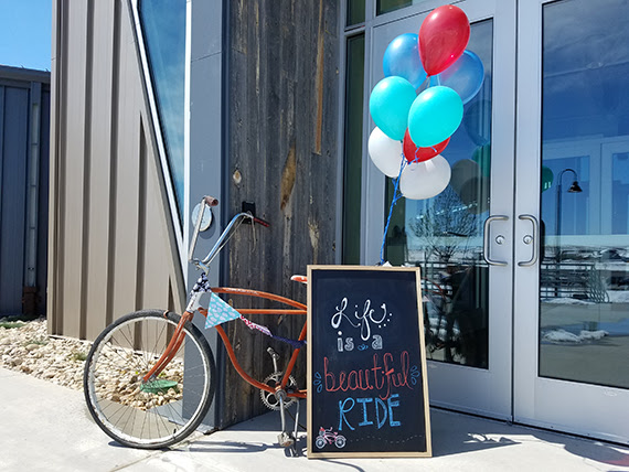 Life is a Beautiful Ride – Bike Themed Baby Shower