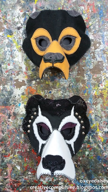 hand made mask