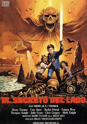 El secreto del lago, Henry Thomas, Brian Trenchard Smith,  Frog dreaming, The quest, The Spirit Chase