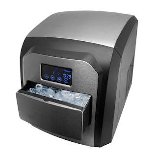 Une machine à glaçon Yoo Digital avec écran LCD