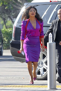 Priyanka Chopra in Beautiful Purple at universal studios ~ .xyz Exclusive 012.jpg