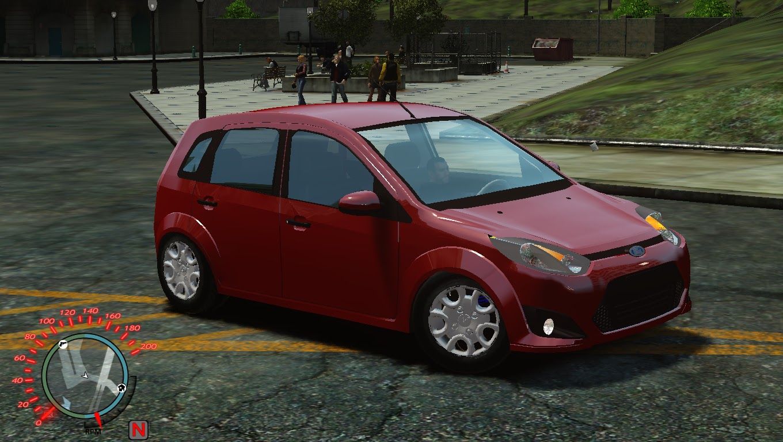 Ford Fiesta 1 6 Rocam Gta Iv Convertido Por Rafa