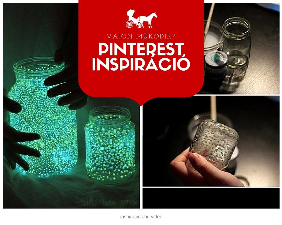 pinterest inspirálta kreatív ötlet