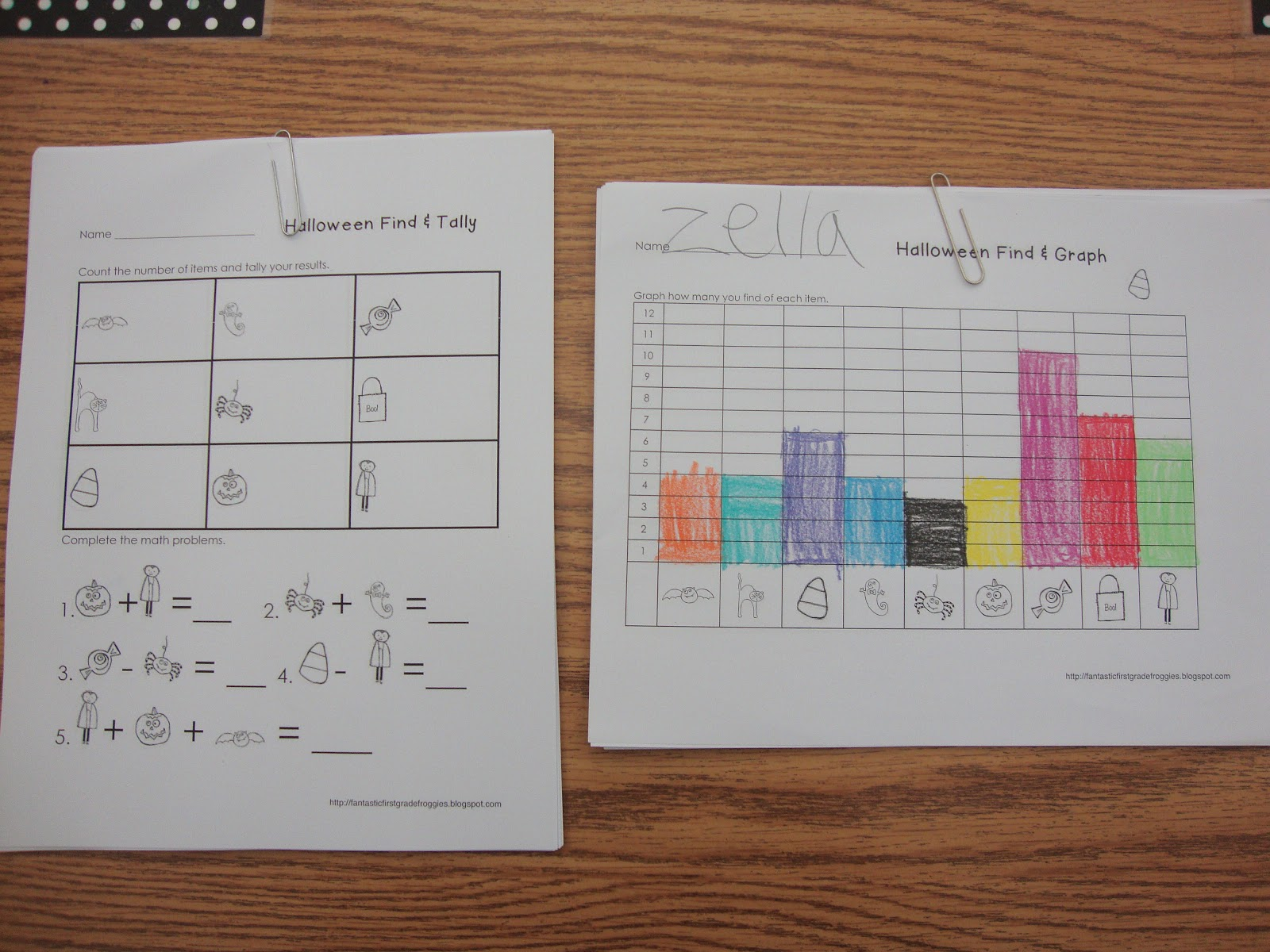 Find Tally And Graph