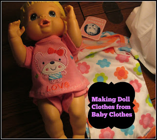 Baby doll with onsies
