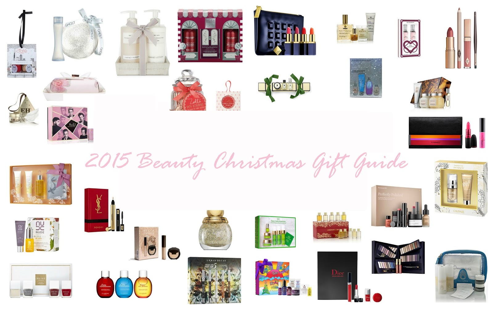 2015 Beauty Christmas Gift Guide