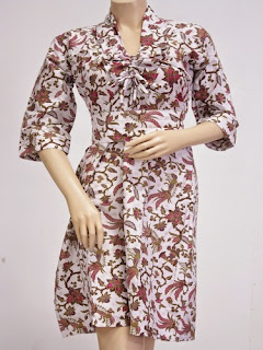 Dress Batik Casual Modern