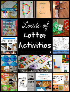 Loads of Letter Activities at Mom's Library