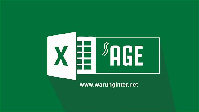 Menghitung Umur Seseorang di Microsoft Excel