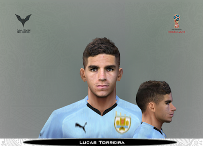 PES 6 Faces Lucas Torreira by Adam & The Kid Facemaker