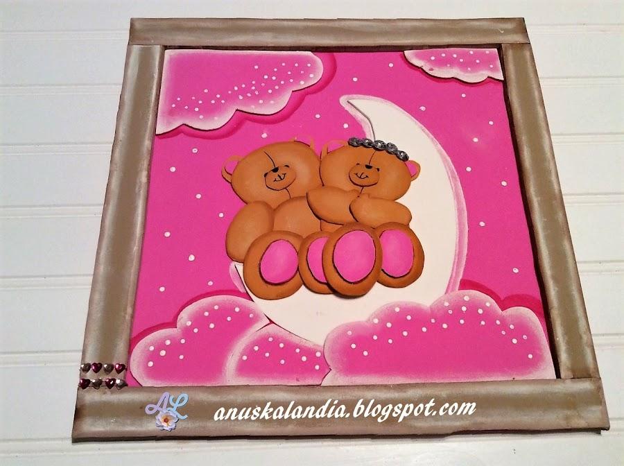 Cuadro-osos-amorosos-en-goma-eva-o-foamy-San-Valentín-Anuskalandia
