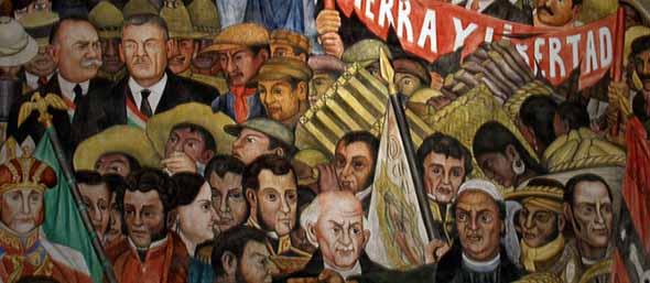 POLÍTICA Y NOTICIAS DE LA REVOLUCIÓN BOLIVARIANA - Página 2 Tierra-y-libertad-diego-rivera-7
