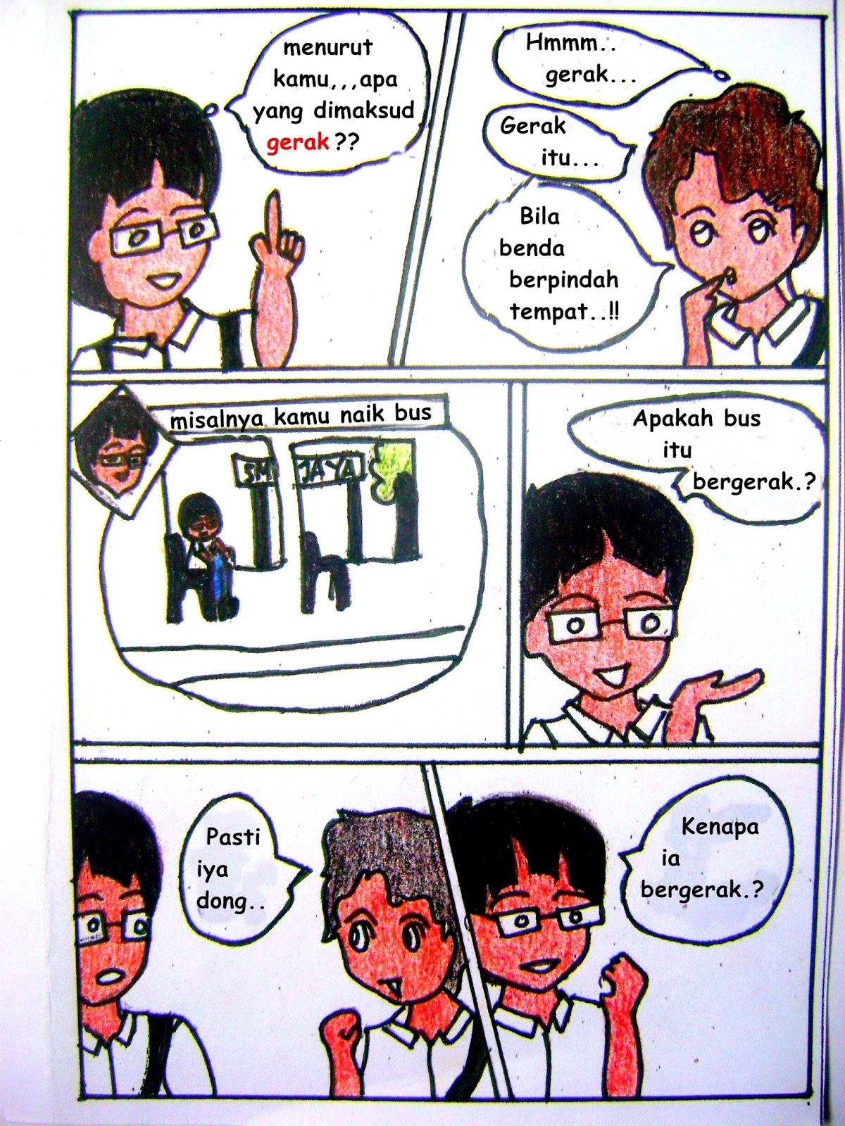 162 Gambar Ilustrasi Komik Sederhana Gambarilus