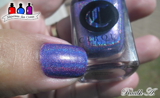 Unhas, esmalte, holográfico, Indie, Cirque, Concord, Roxo, Born Pretty, Dixie, carimbada, semana do holográfico, Nails, Holographic, Purple,