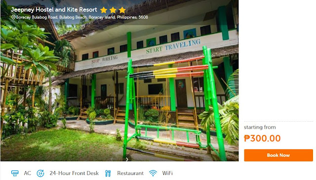 Budget Hotels and Cheap Hostels in Boracay