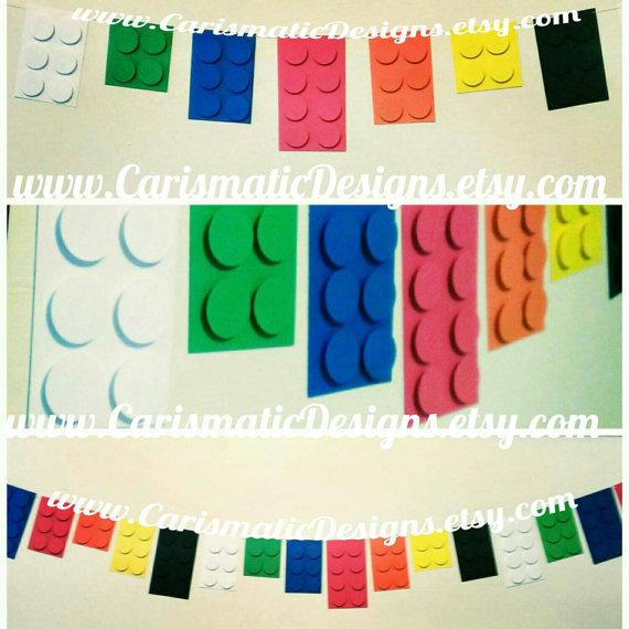 Diy Lego Party Decorations