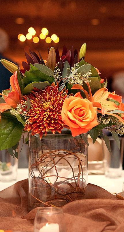 DIY Fall Centerpiece Ideas | Do it yourself ideas and projects