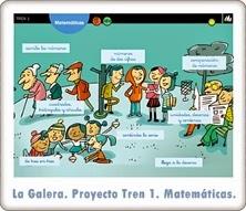 http://recursoseducativosdeprimaria.blogspot.com/2012/12/la-galera-proyecto-tren-1-matematicas.html