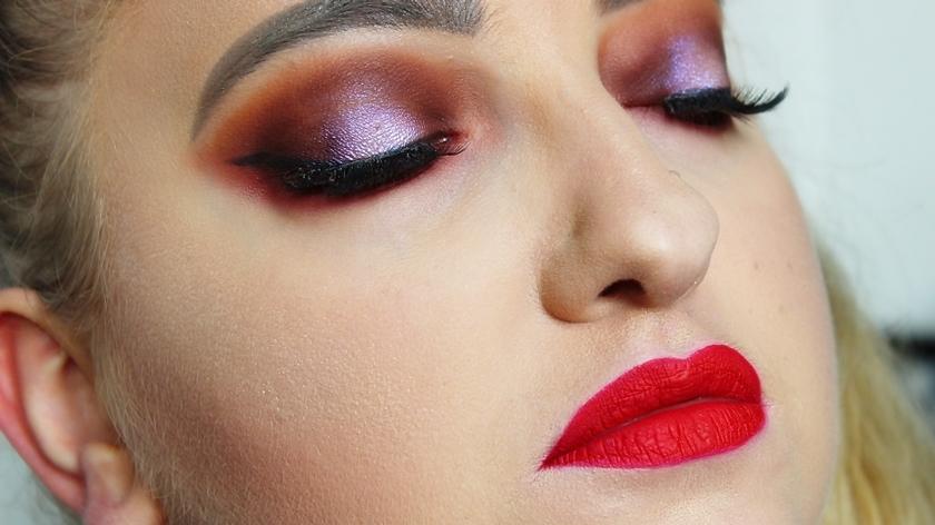 Jesienny makijaż paletą Morphe 35OS.