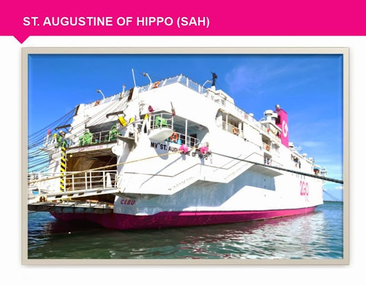 Superferry Promo - 2go Promo: Superferry Philippines Promo 2014: St. Augustine of Hippo