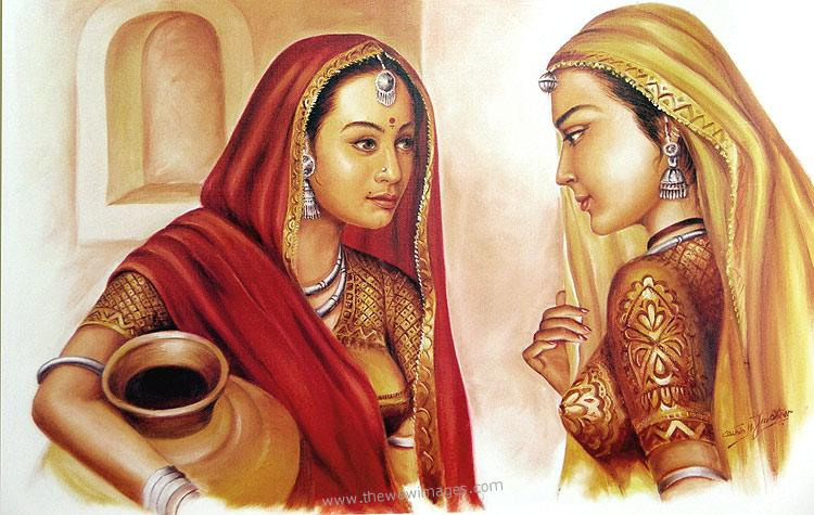INDIAN CULTURES AND TRADITIONS: Indian PAINTINGS