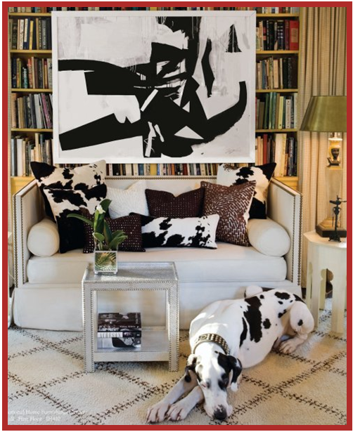 Pet Friendly Home Decor: House & Post: Dashing Dogs