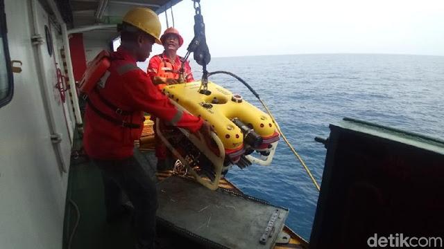 Ada Titik Terang Lokasi Bodi Lion Air, KR Baruna Jaya Terjunkan ROV