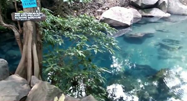 Wisata situ biru cilembang sumedang