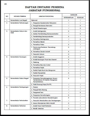 BKN-Profil Jabatan Fungsional PNS Direktorat Jabatan ASN