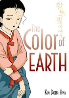 the color of earth by kim dong hwa book cover