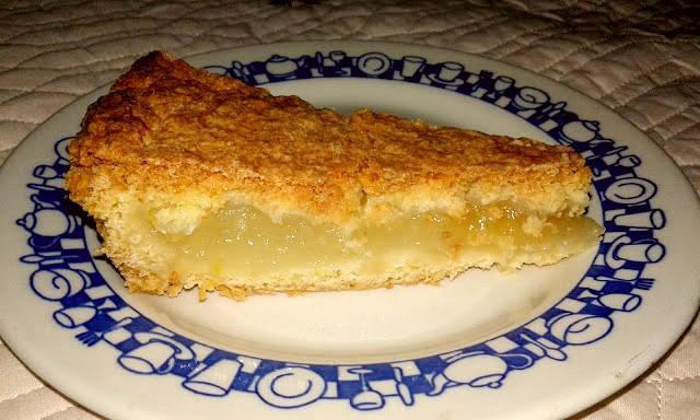 пісочний пиріг з лимонним кремом