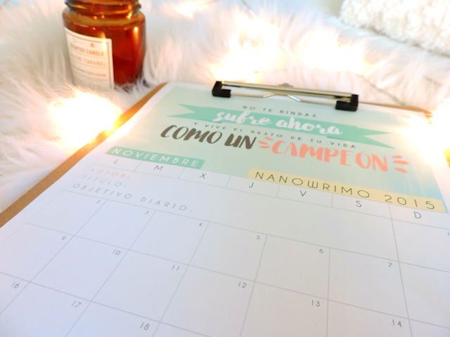 calendario, gratis, descargable, png, pdf, curso 2015, 2015-2016, calendario Noviembre, calendario nanowrimo, organización, tiempo, mes