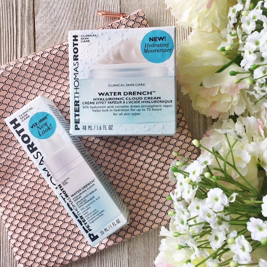 Review: Peter Thomas Roth NEW Water Drench Hyaluronic Cloud Cream & Serum