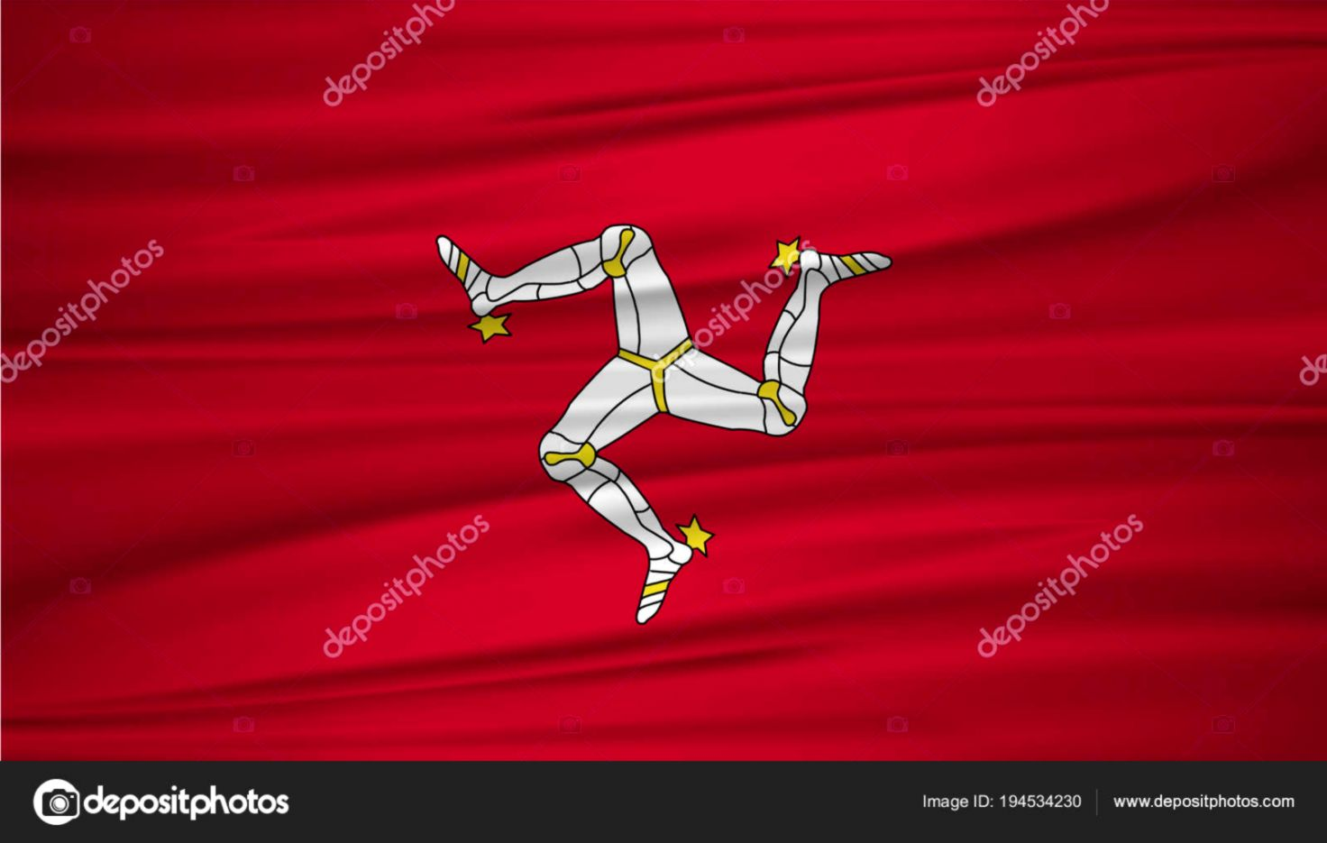 Isle Of Man Countries Flag Wallpaper | Like Wallpapers