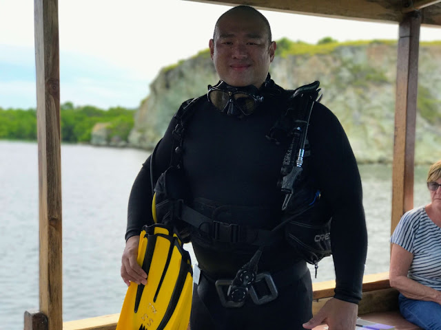 johnny jen fd scuba diving