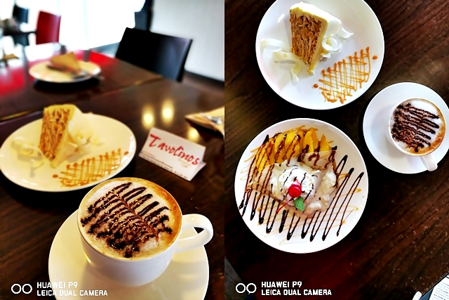 Desserts at Tavolinos, Antipolo Food Trip using Huawei P9 Mobile Phone Photography YedyLicious Manila Food Blog