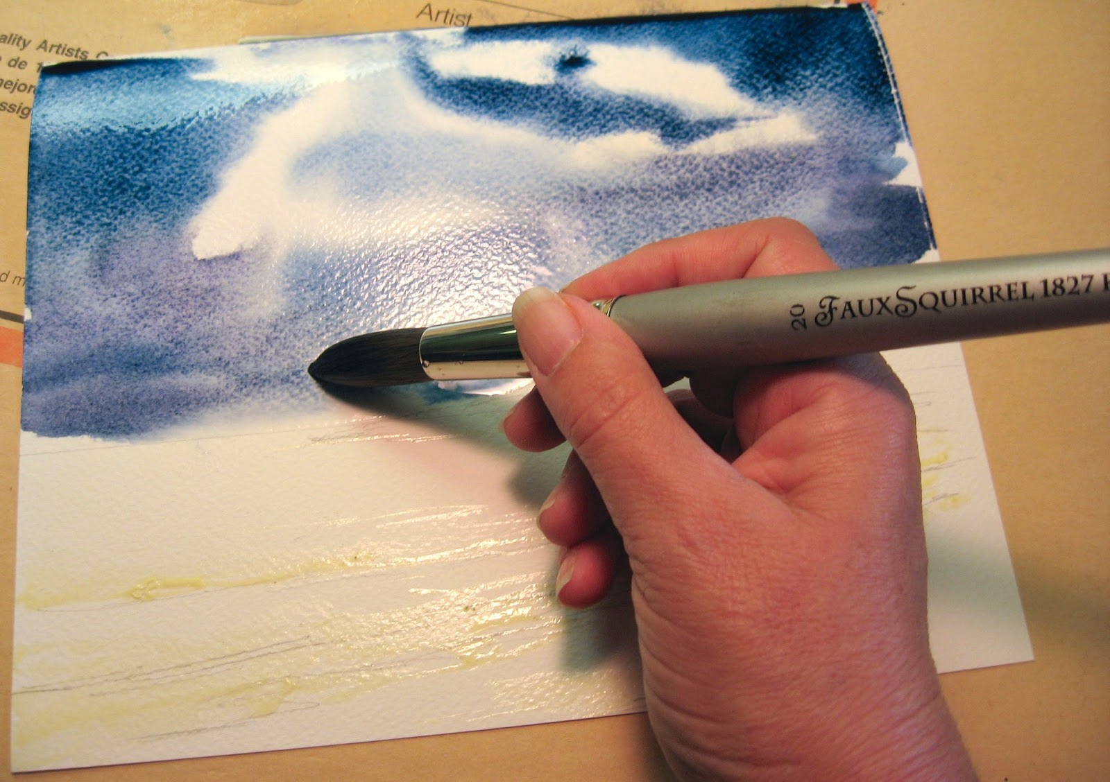 Painting Tutorial Watercolor With Annie Strack