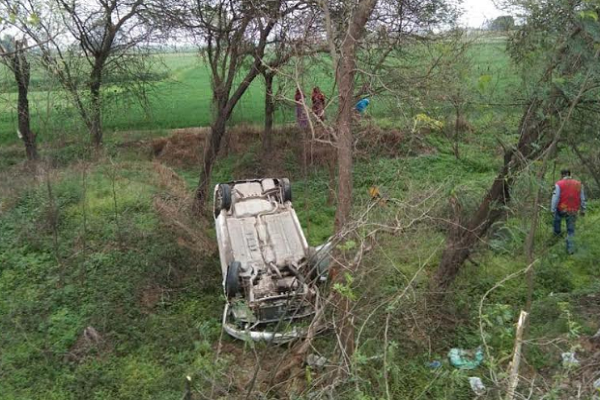 Car-accident-in-kurukshetra-Haryana