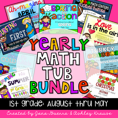 https://www.teacherspayteachers.com/Product/1st-Grade-Math-Tub-YEARLY-BUNDLE-2677786