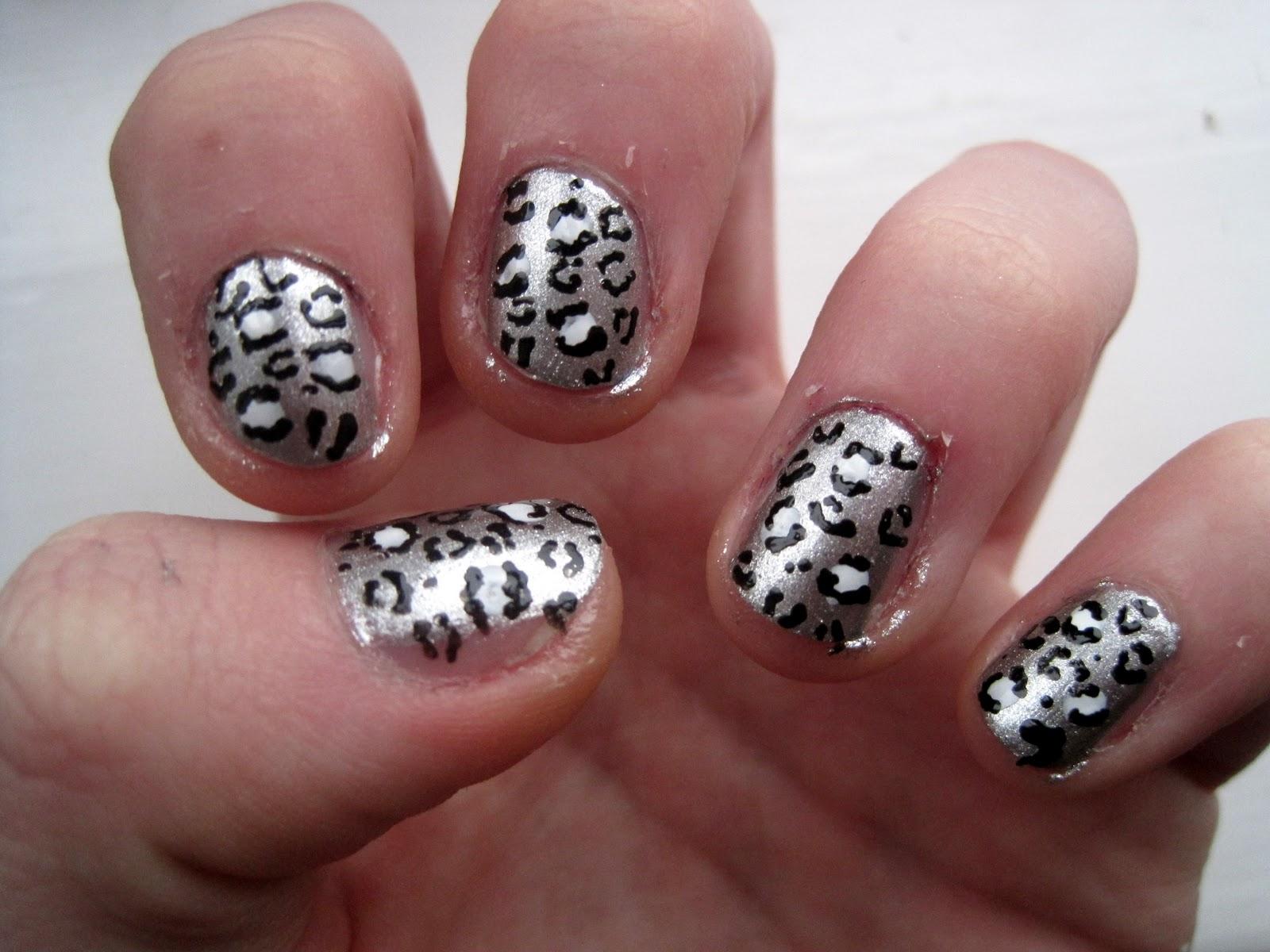 Cheetah Print Nails Designs | Nail Designs, Hair Styles ...