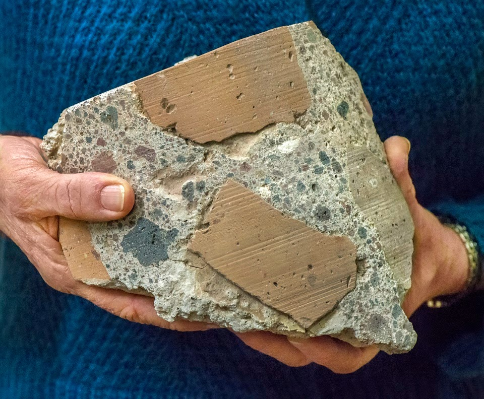 Secrets of Roman concrete revealed