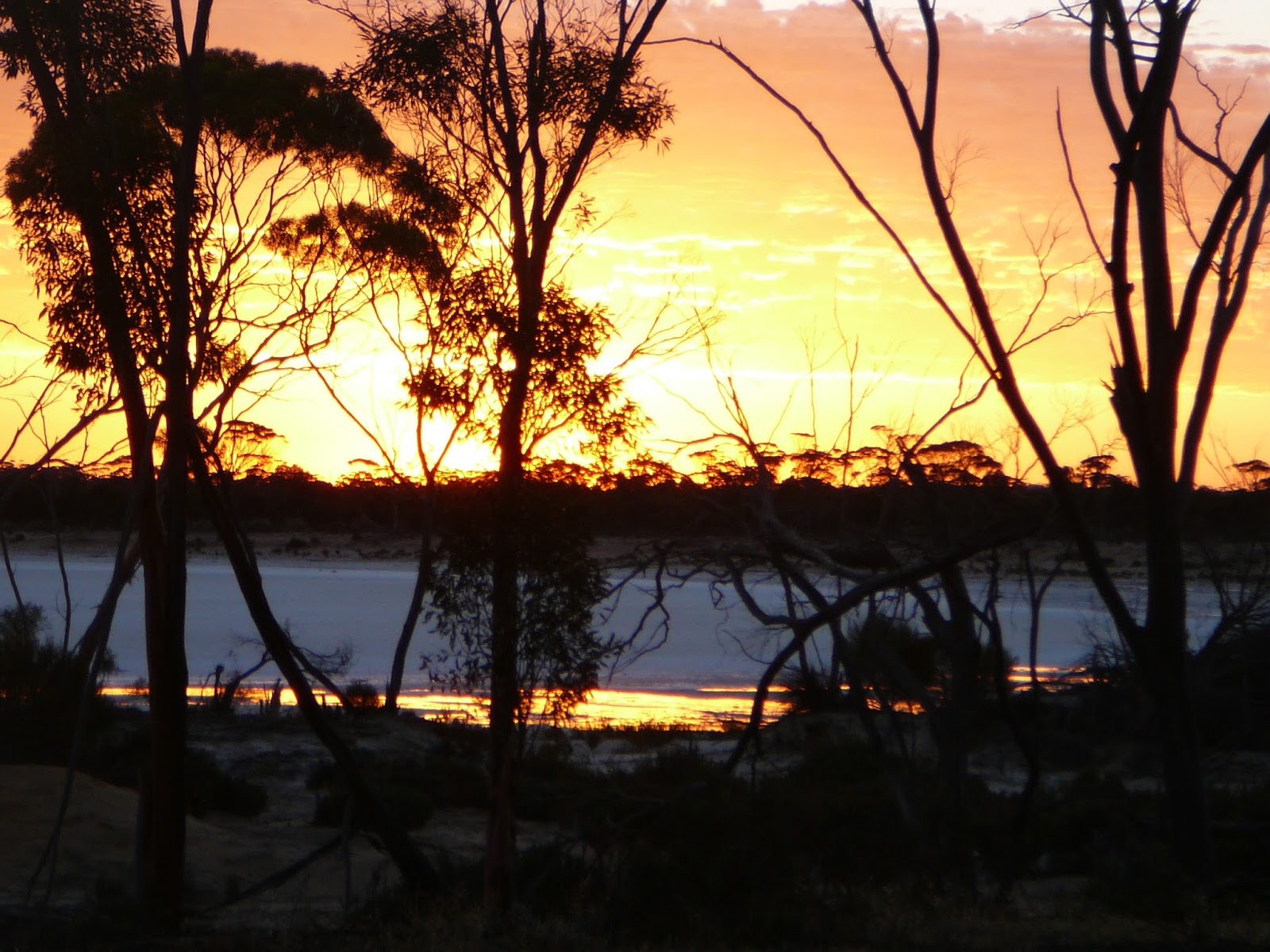 Sunset in Hyden Western Australia
