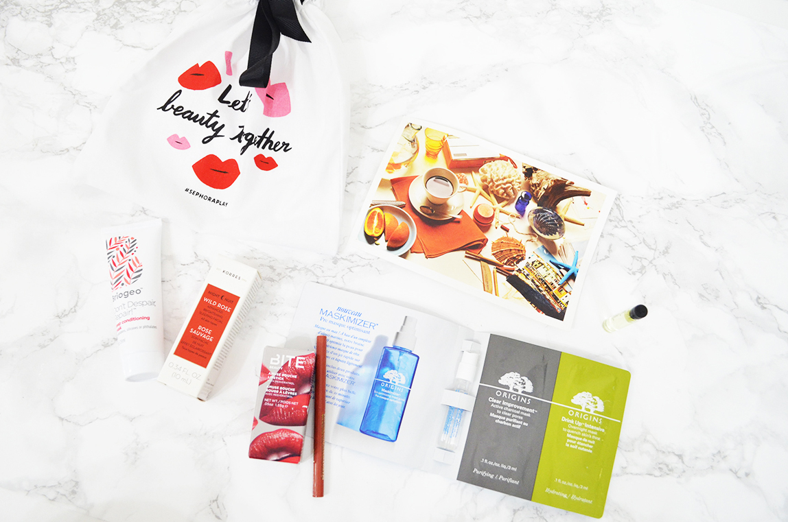 Sephora Play! Box May 2016
