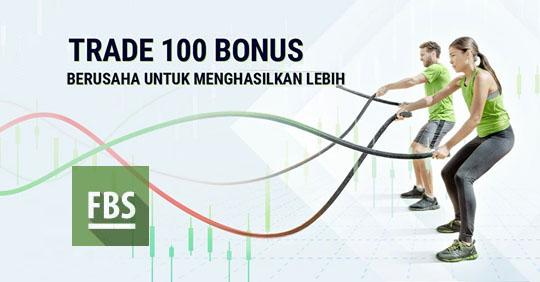 Trade 100 Bonus