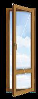 Одностворчатая балконная дверь