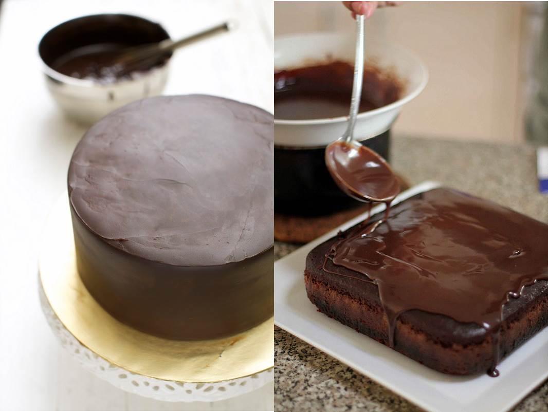 3 Resepi Topping Coklat Ganache Mudah   Blogopsi